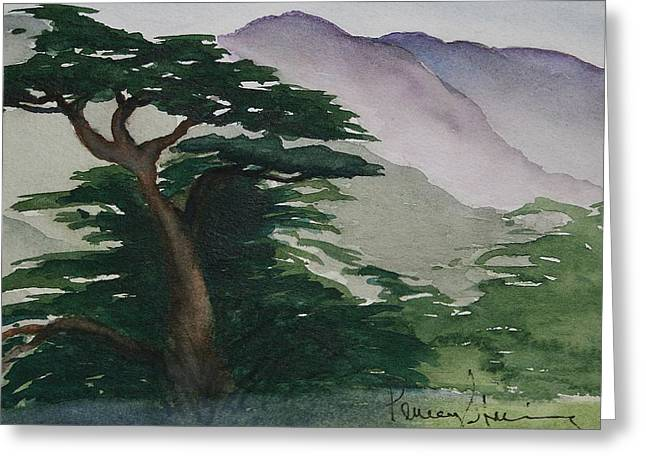The Cypress Tree Greeting Card