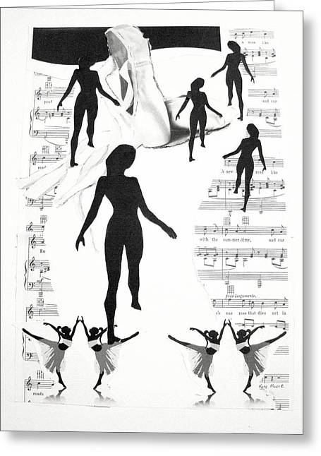 The Dance Greeting Card by Kate Moore
