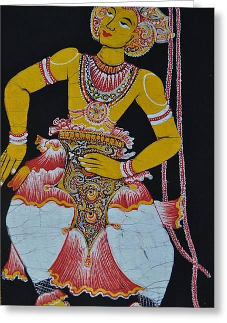 The Dance Greeting Card by Kumi Rajagopal