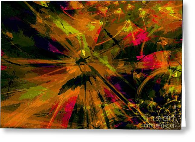 The Depth Of Liberty Greeting Card by Fania Simon