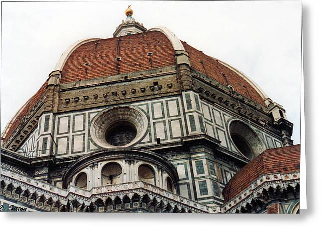 The Duomo In Florence Greeting Card