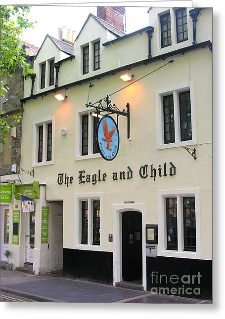 The Eagle And Child Greeting Card