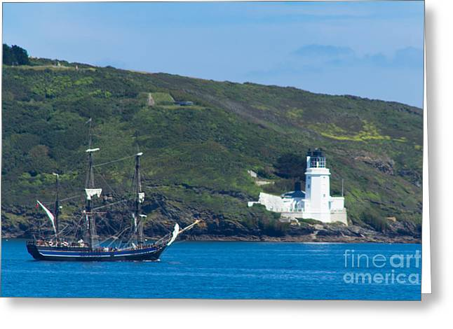 The Earl Of Pembroke Greeting Card by Brian Roscorla