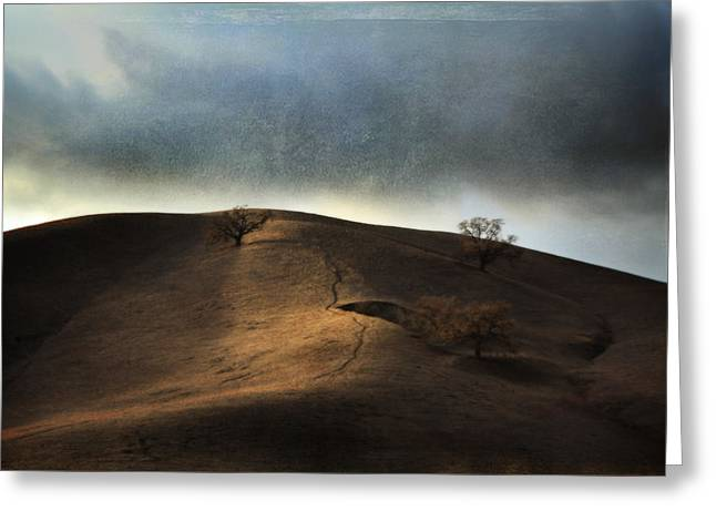 The Earth Moved When You Loved Me Greeting Card by Laurie Search