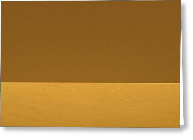 The Edge Greeting Card by Rudy Van Acker