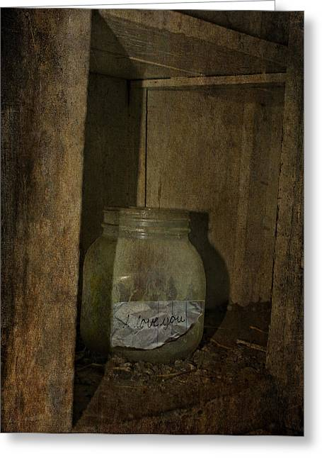 The Endless Jar  Greeting Card by Empty Wall