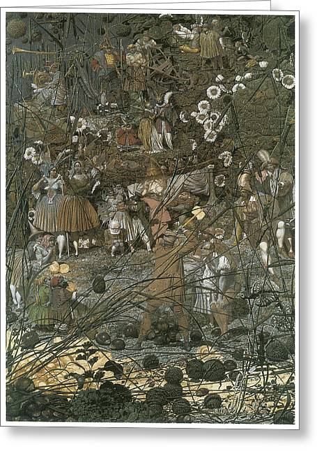 The Fairy Feller's Master Stroke Greeting Card by Richard Dadd