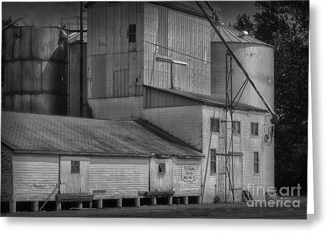 The Feed Mill Greeting Card by Tamera James