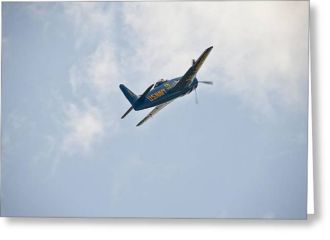 The First Blue Angel Greeting Card