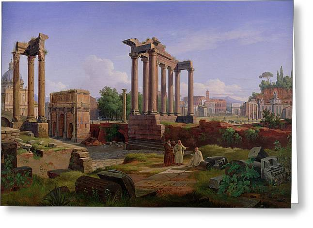 The Forum Rome  Greeting Card