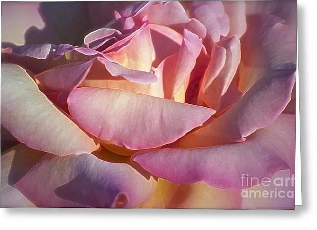 The Fragrance Greeting Card by Gwyn Newcombe
