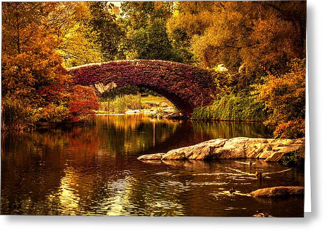 The Gapstow Bridge Greeting Card