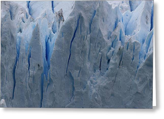 The Glacier Up Close Greeting Card