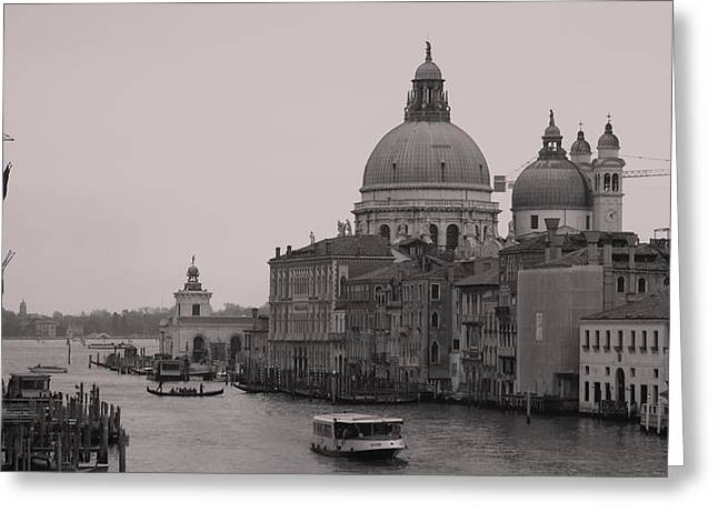 The Grand Canal Venice Greeting Card by Luis and Paula Lopez