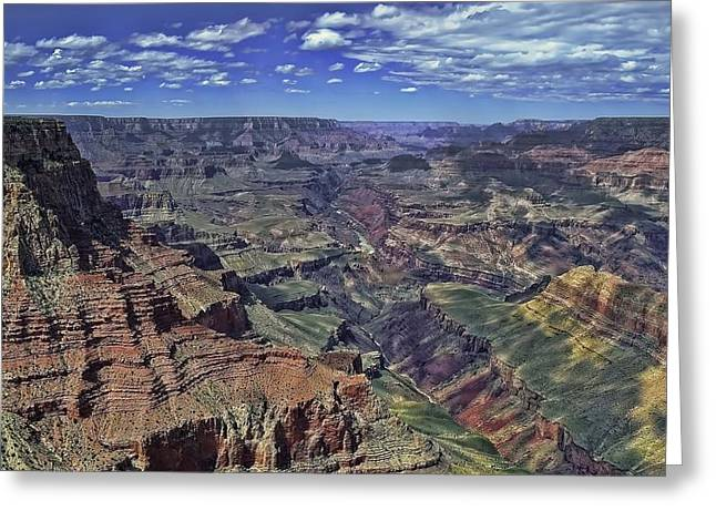Greeting Card featuring the photograph The Grand Canyon by Renee Hardison