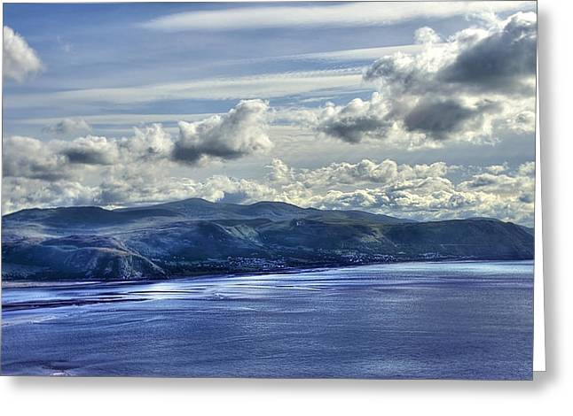 The Great Orme Greeting Card by Svetlana Sewell