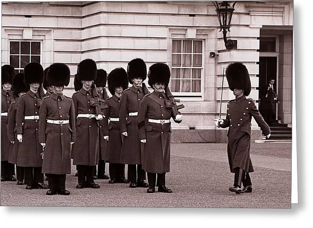 The Guard Greeting Card