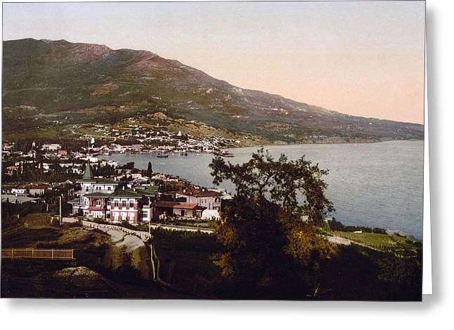 The Gulf Jalta -ie Yalta - The Crimea - Russia -ie- Ukraine Greeting Card by International  Images