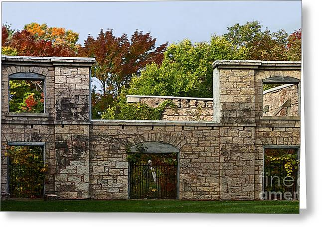 The Hermitage Greeting Card by Barbara McMahon