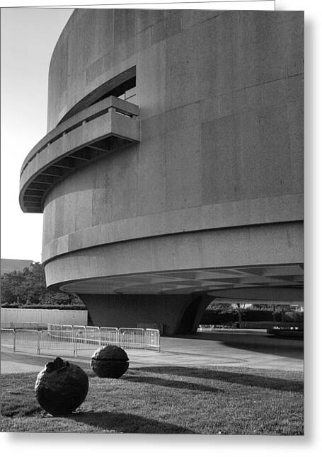 The Hirshhorn Museum I Greeting Card by Steven Ainsworth