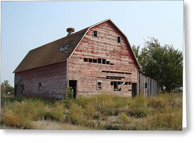 The Hole Barn Greeting Card