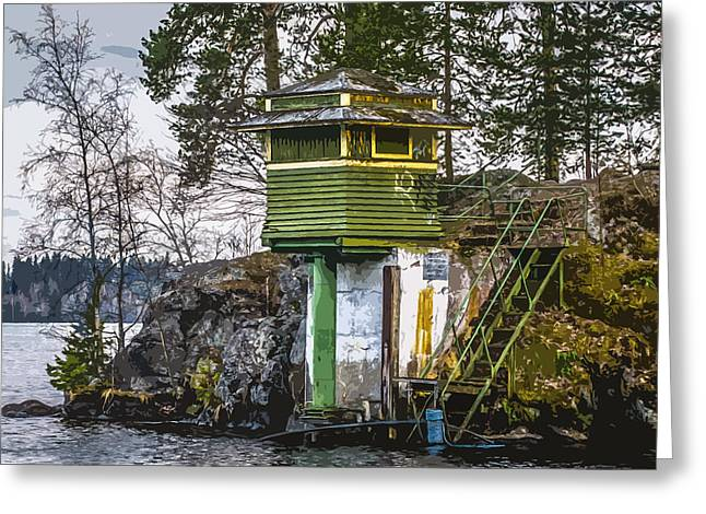 Greeting Card featuring the photograph The Hut 2 by Matti Ollikainen