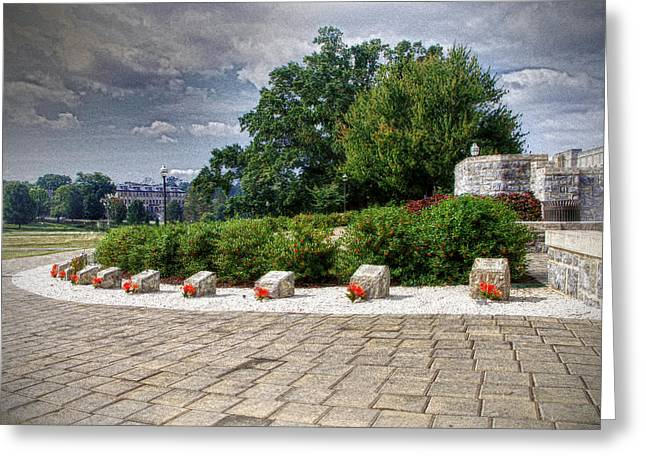 The Innocent Ones-virginia Tech Memorial Greeting Card by Kathy Jennings