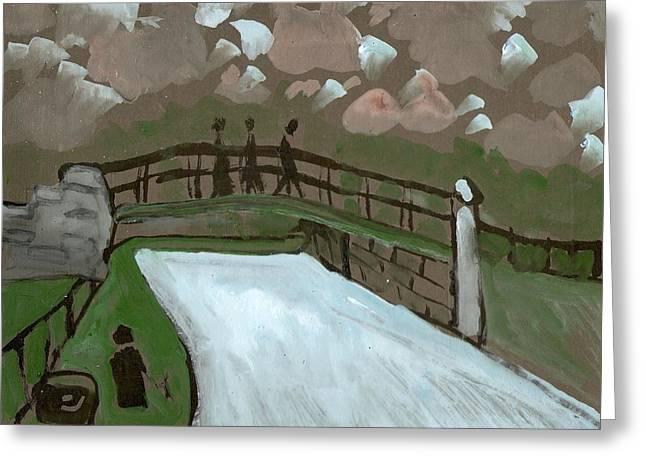 The Iron Bridge Greeting Card