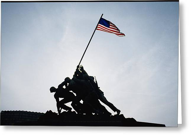 The Iwo Jima Memorial Greeting Card