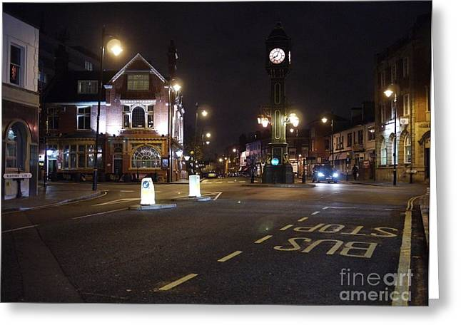 The Jewellery Quarter Greeting Card by John Chatterley
