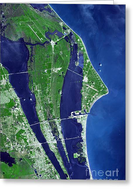 The John F. Kennedy Space Center Greeting Card
