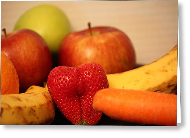 The Joy Of Fruit At Mid-day Greeting Card by Andrea Nicosia