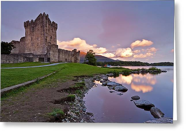 The Keep Greeting Card by Brendan O Neill