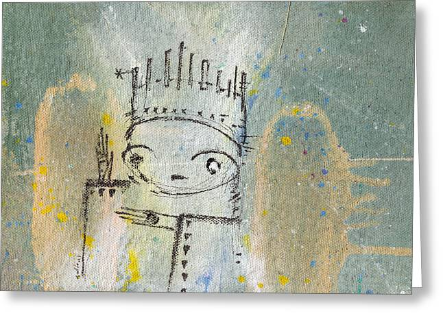The Kings 2  Greeting Card by Mark M  Mellon
