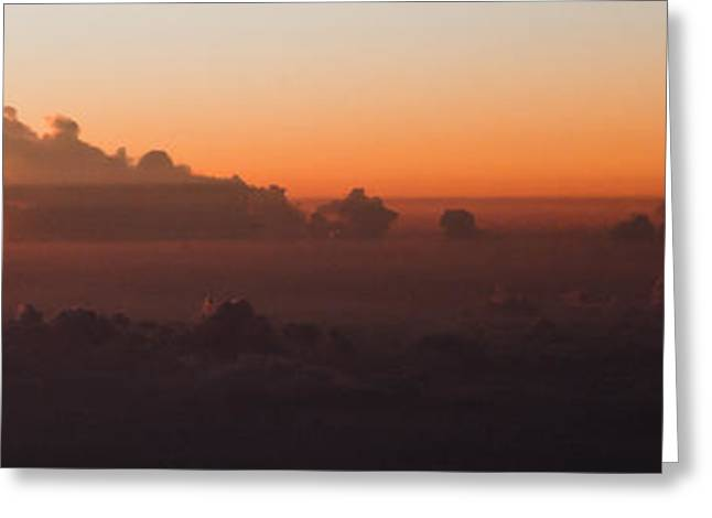 The Last Light Greeting Card by Michael Braxenthaler