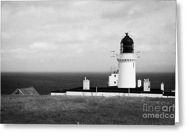 The Lighthouse At Dunnet Head Most Northerly Point Of Mainland Britain Scotland Uk Greeting Card by Joe Fox
