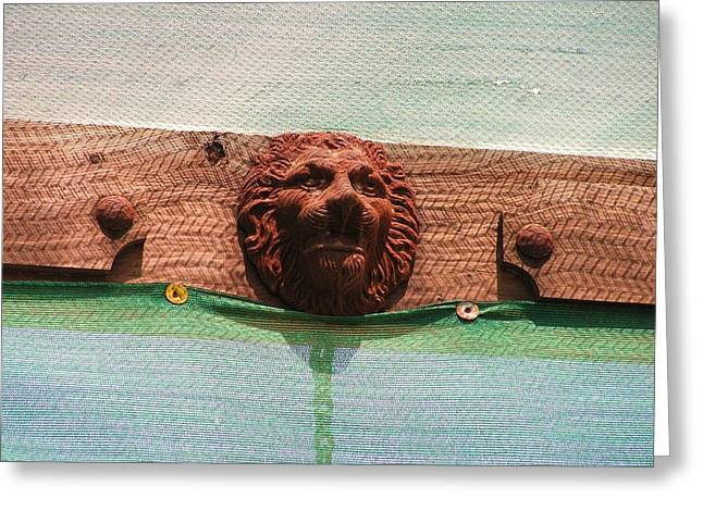 Greeting Card featuring the photograph The Lion Of Penasco by Rand Swift