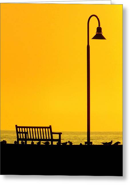 The Long Wait Greeting Card by Karen Wiles