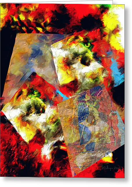 The Luminous Plain Of Existence Greeting Card
