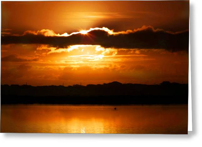 The Magic Of Morning Greeting Card by Karen Wiles