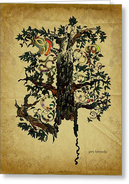 The Magic Tree Greeting Card