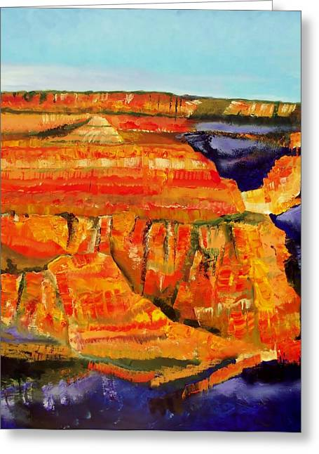 The Magnificent Grand Canyon 2 Greeting Card by FS Boric