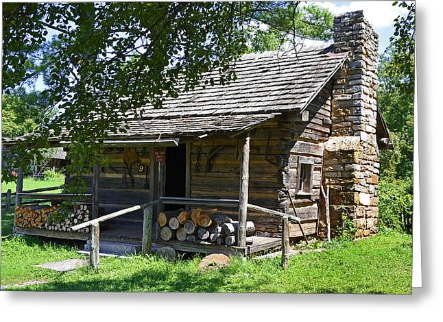 The Mark Twain Family Cabin Greeting Card