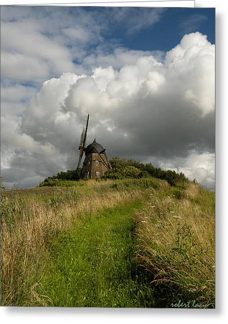 The Mill At Aarup Greeting Card by Robert Lacy