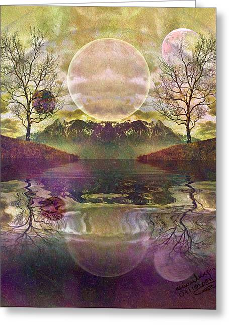 The Mystery Of Dawn Greeting Card