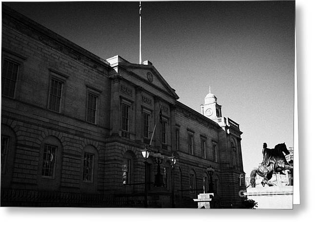 The National Archives Of Scotland General Register House Edinburgh Scotland Uk United Kingdom Greeting Card by Joe Fox