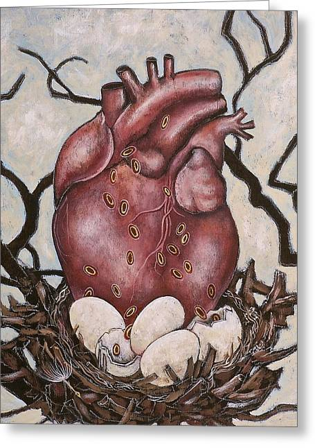 The Nest Of My Heart Greeting Card