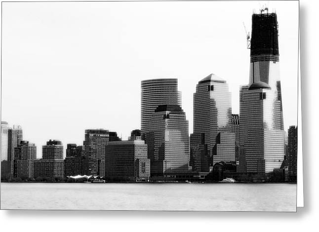 Greeting Card featuring the photograph The New Skyline  by Raymond Earley