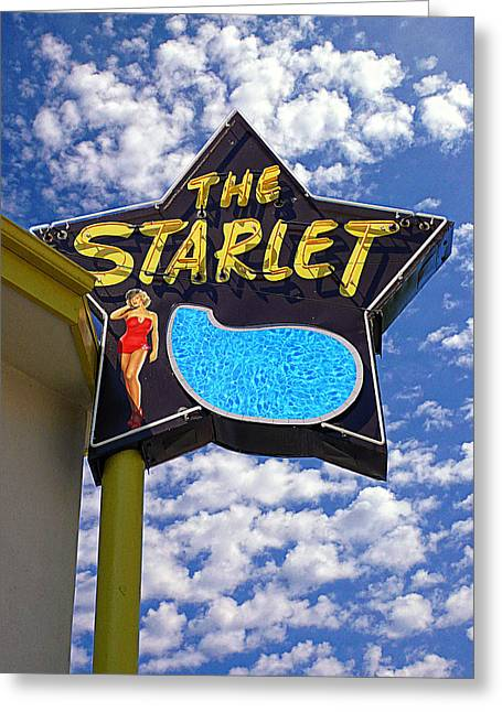 The New Starlet Greeting Card by Ron Regalado
