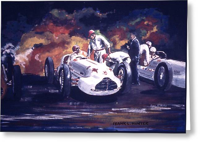 The Novi Specials At Indy Greeting Card by Frank Hunter